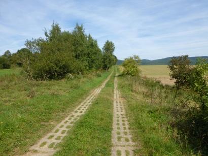 ehem. Kolonnenweg  entlang der ehem. innerdeutschen Grenze zwischen Ellrich (Thüringen) und Walkenried (Niedersachsen)