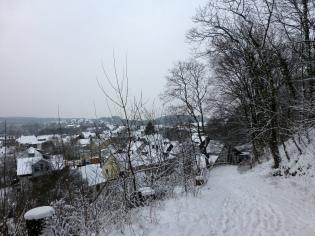 Menden, Kapellenberg  im Schnee