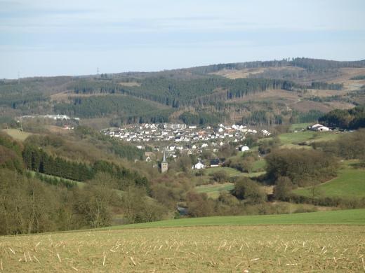 Ausblick auf Enkhausen und Hachen