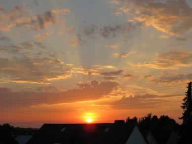 Sonnenuntergang 27.07.13