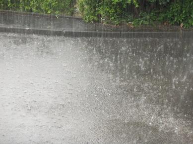 Regenschauer am 28.07.13