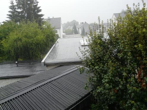Regenschauer am 21.07.2011