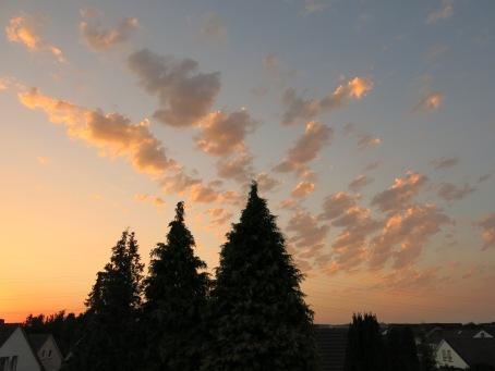 Sonnenuntergang 2.8.13