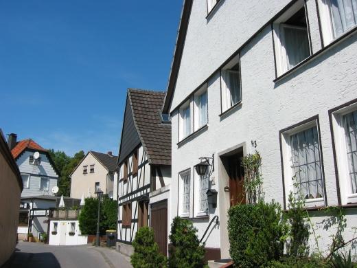 Menden, obere Altstadt; 19.08.2009