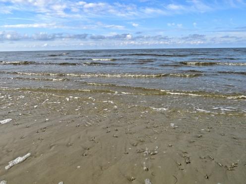 am Strand von St. Peter-Ording