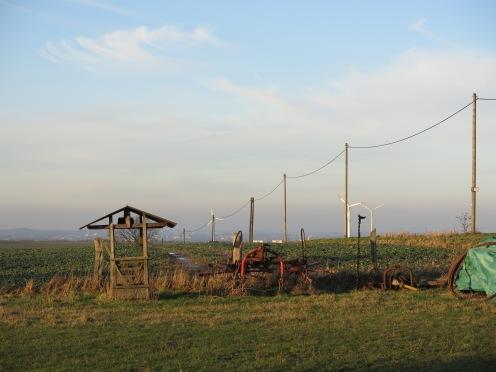auf dem Haarstrang zwischen Altendorf und Billmerich