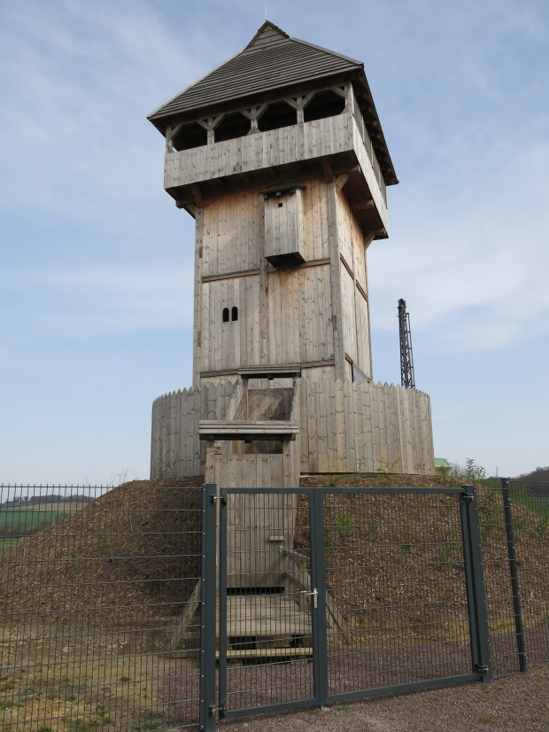 Turmhügelburg (Motte) in Küntrop