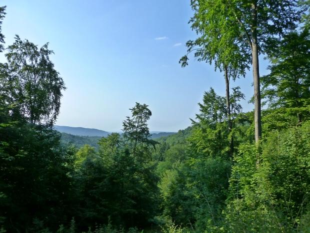 Nord-Harz über dem Varleytal