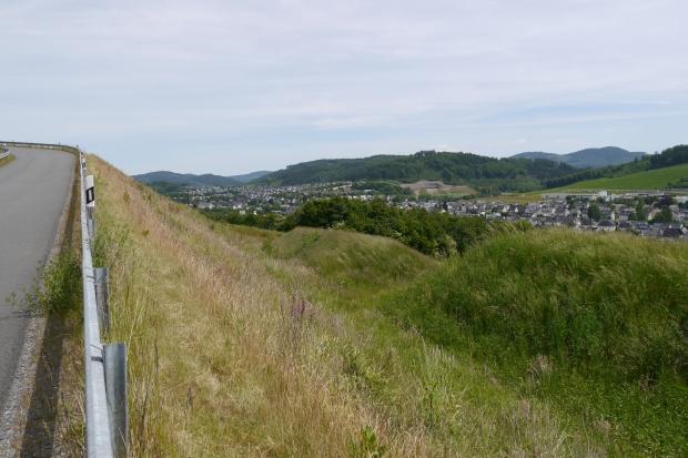 Velmede und Bestwig (hinten) von Nordwest