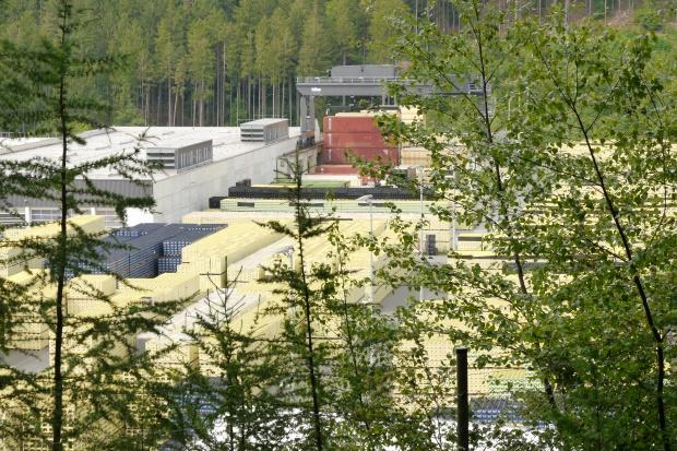 Warsteiner Brauerei von Süden
