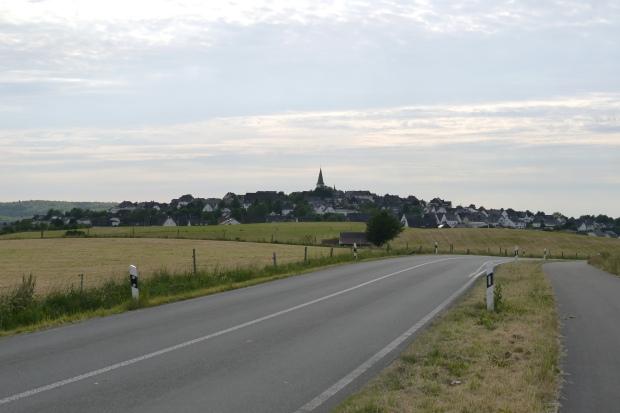 Hirschberg, von Osten