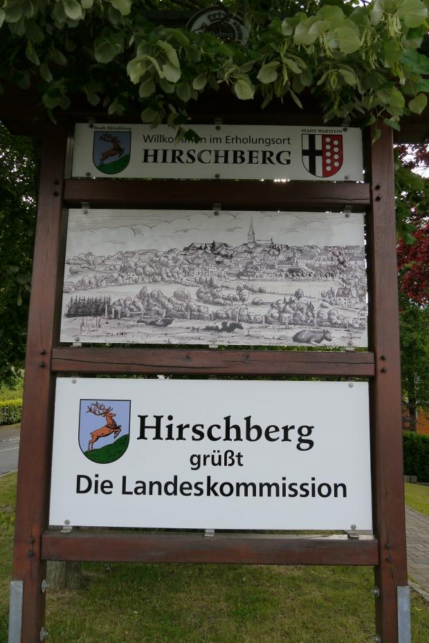 Hirschberg, Ortseingang