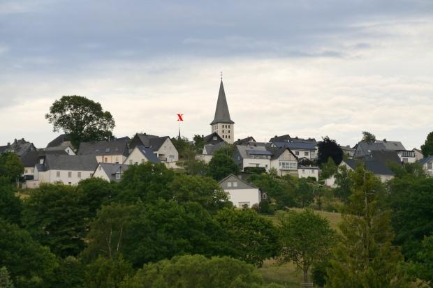 Hirschberg, von Westen