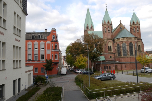 Iserlohn, Aloysiuskirche und Aloysiusstr.