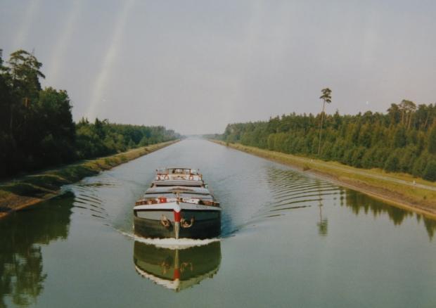 Elbe-Seiten-Kanal 1988
