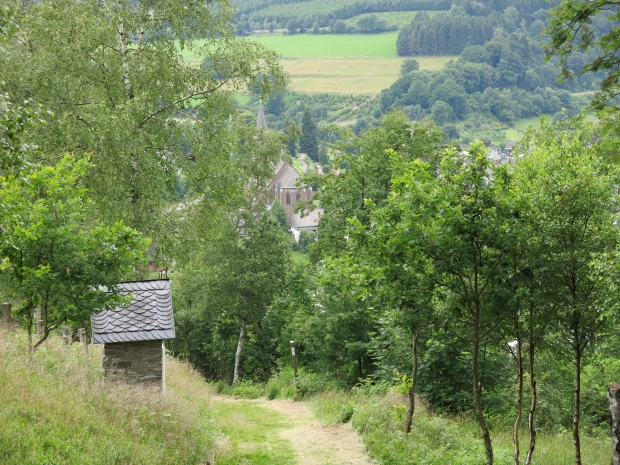 Kreuzweg auf dem Hackelberg bei Züschen