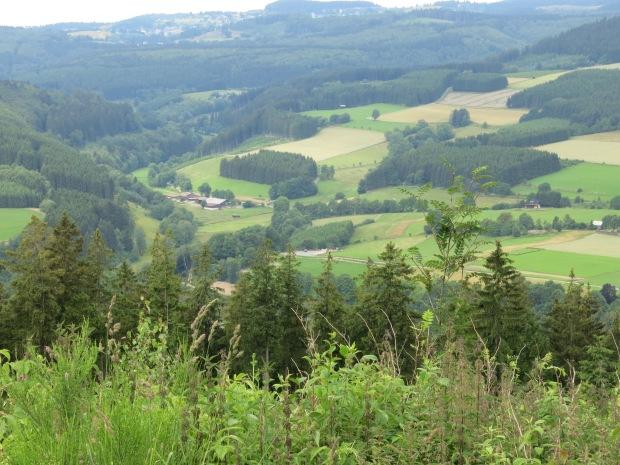 vom Hackelberg nach Nordwesten