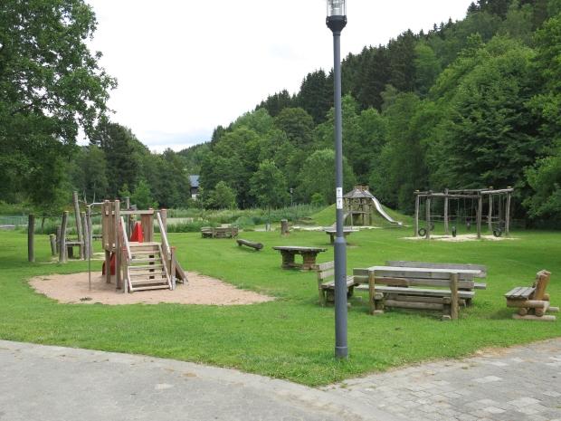 """Park """"Bullenwiese"""" bei Züschen"""